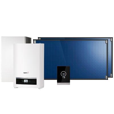 duurzame energie zoals een zonneboiler in samenwerking met Goois Verwarmings- en Installatiebedrijf Robert van der Poel