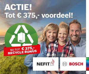 Aktie Goois Verwarmings- en installatiebedrijf Robert van der Poel Nefit Bosch